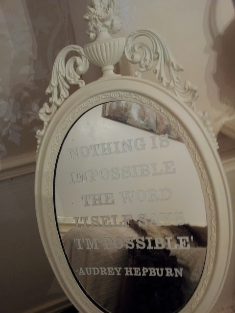 Motivational Quote Mirror Twigg Studios