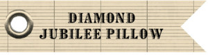 diamond jubilee pillow