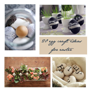 20 plus easter egg craft ideas