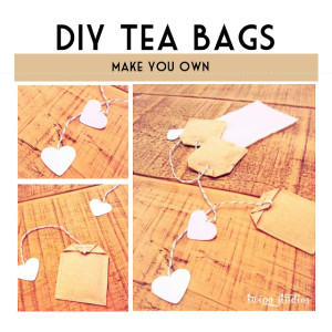 diy cute tea bags