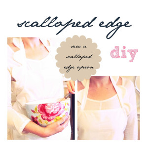 scalloped edge tutorial