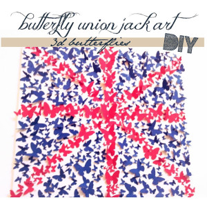 butterfly union jack tutorial
