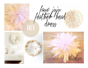 diy juju head dress