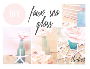 sea glass diy