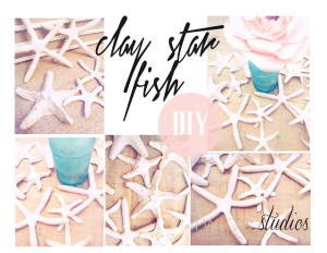 faux star fish diy