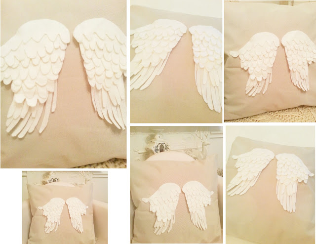angel wing pillow twigg studios