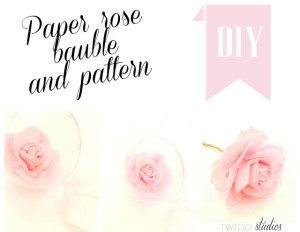 paper roses template