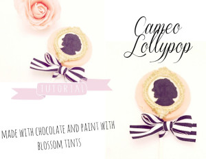 chocolate cameo lollypop