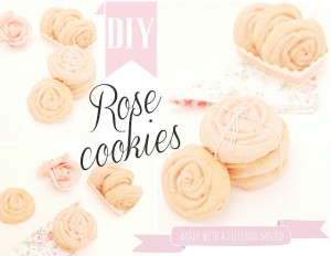rose shaped cookies