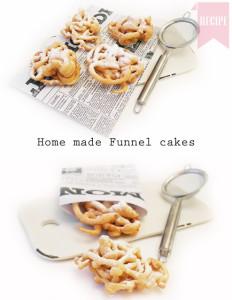 funnel cakes recipe