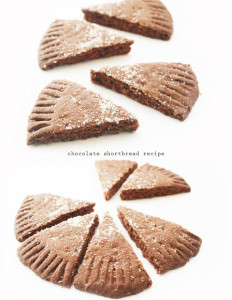 chocolate shortbread recipe