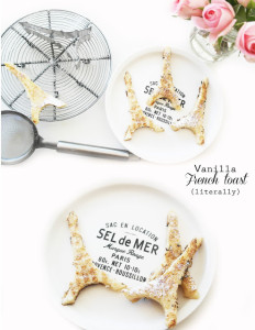 Vanilla/cinnamon french toast recipe