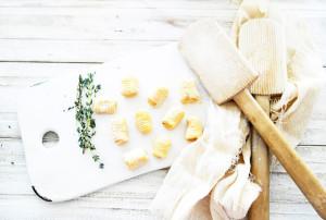 sweet potato and ricotta gnocchi