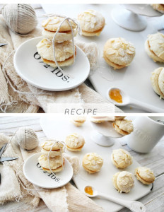 abricotines (apricot almond cookies)