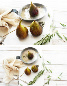 roasted figs and ricotta