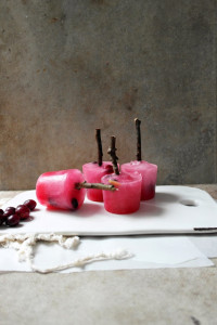 fresh cranberry and orange winter cooler popsicles