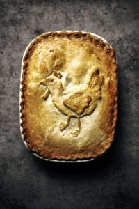 chicken and bacon pot pie