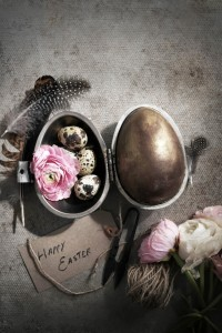 golden easter egg and how to temper chocolate like a pro