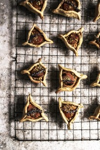 apricot almond tarts with lavender pistachio pastry