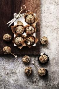 nutty granola balls