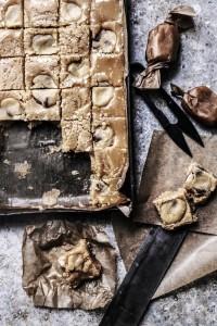 chocolate chip cookie dough studded fudge