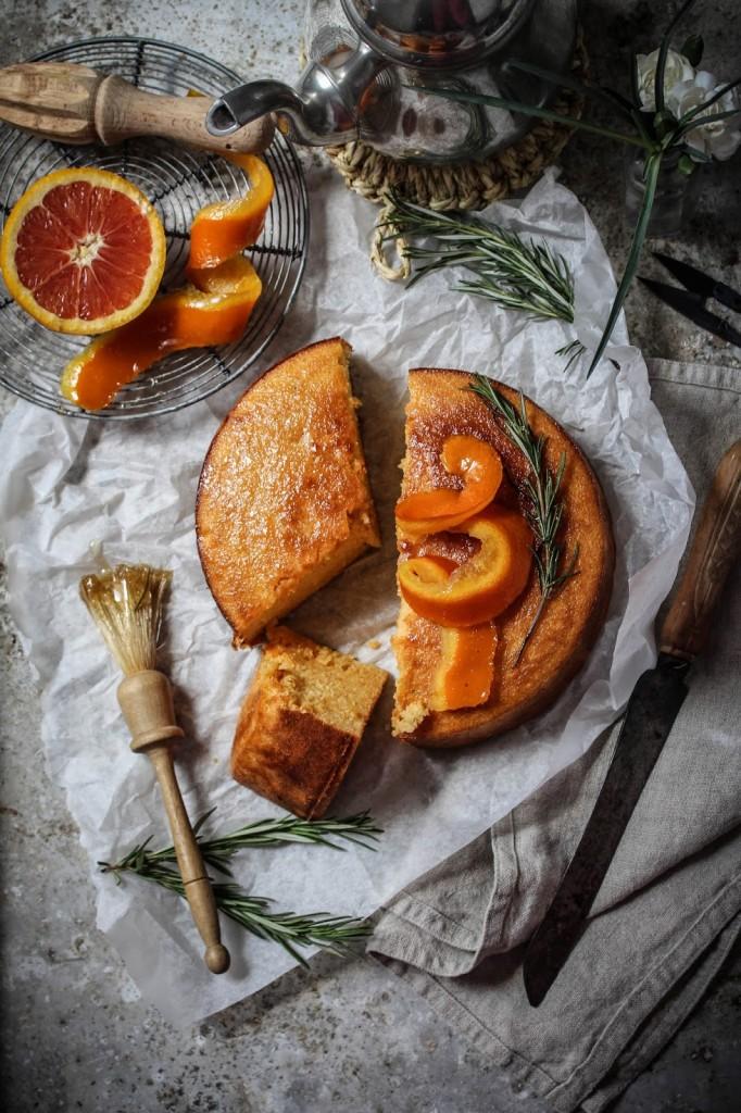 Orange Cake Boiled Whole Oranges