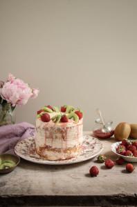strawberry and kiwi cake recipe