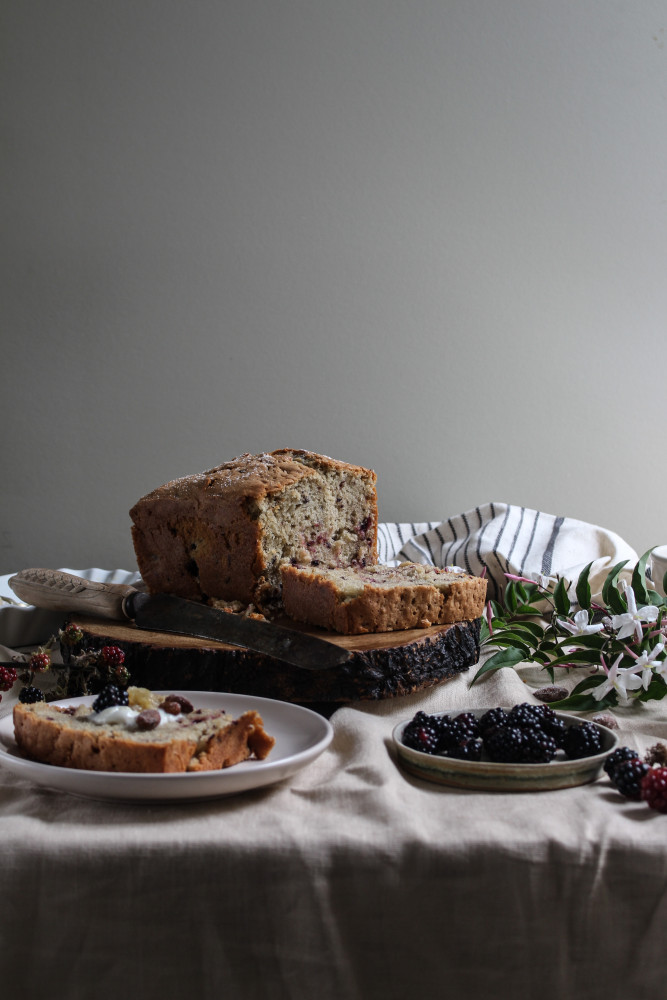 blackberry almnd cake with jasmin honey-1-15