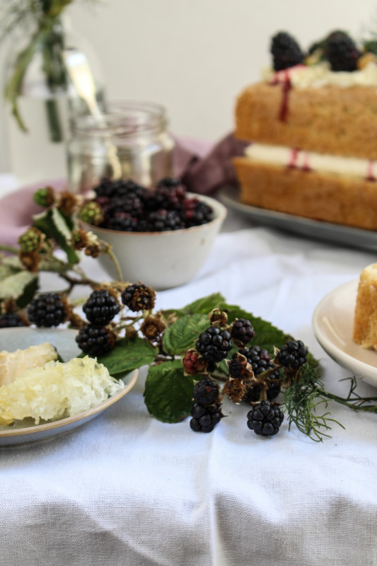 wild blackberry and fennel cake-1-5