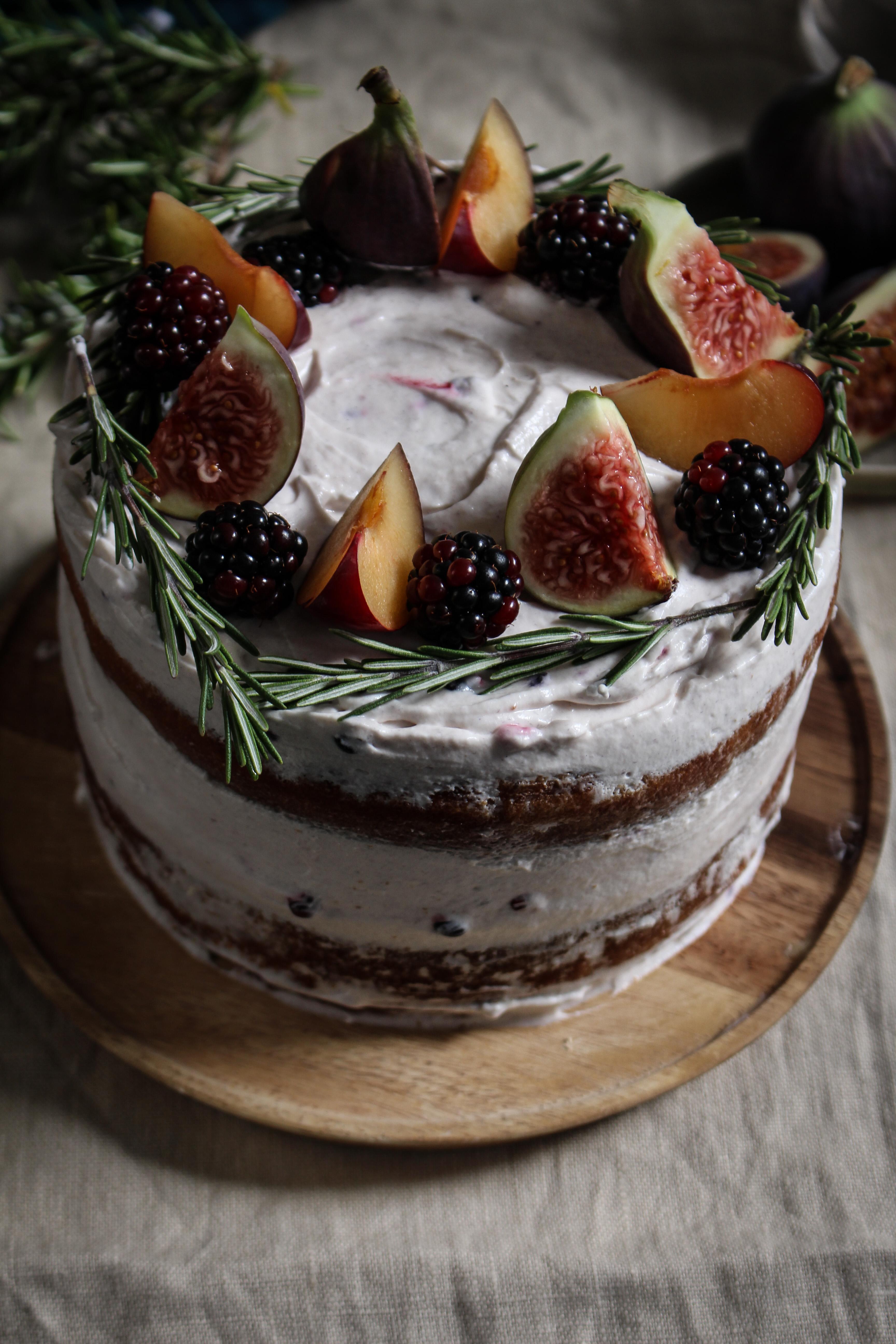 Dark Plum Cake Recipe