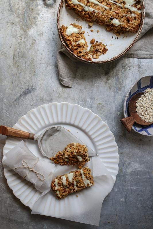 winter squash granola bars refined sugar free