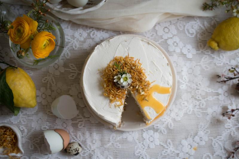 lemon poppy seed cake with honey black tea frosting-1-10
