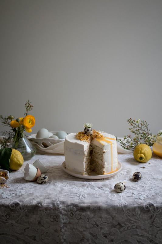 lemon poppy seed cake with honey black tea frosting-1-3