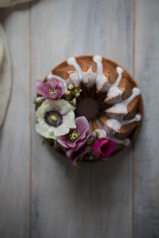 rye seed cake from the near and far cookbook