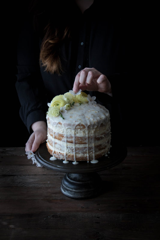 zuccini lemon cake with goats cheese frosting-1-3