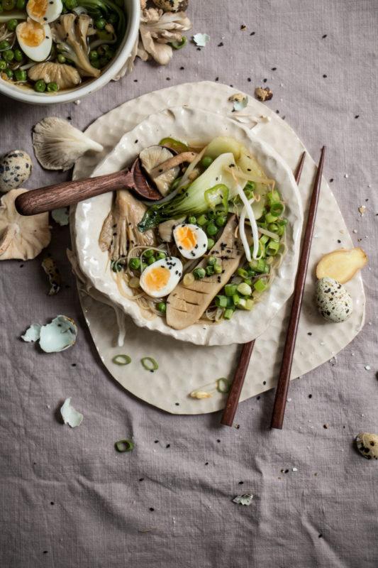 mushroom veggie ramen