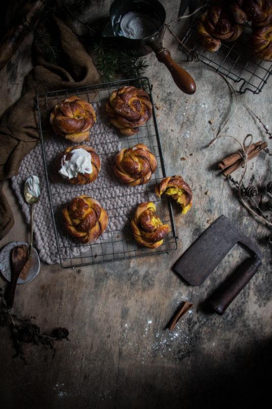 golden milk cinnamon buns