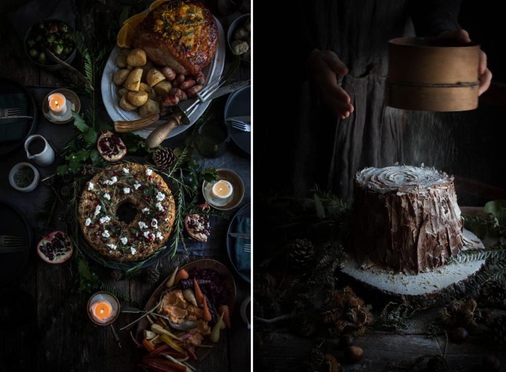 Waitrose Chocolate Christmas Tree Cake