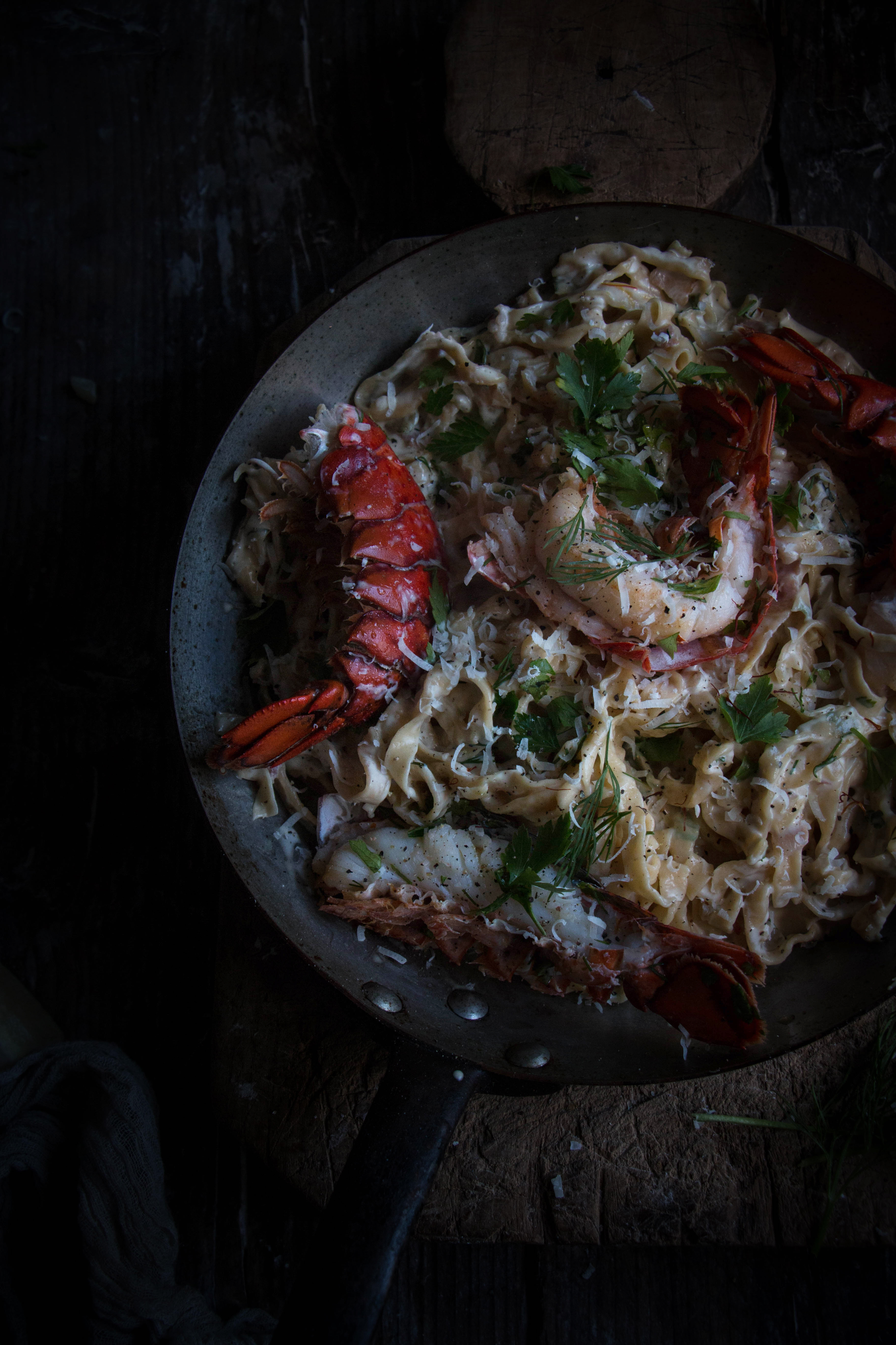 Icelands luxury range and creamy lobster tail champange for How to make lobster pasta