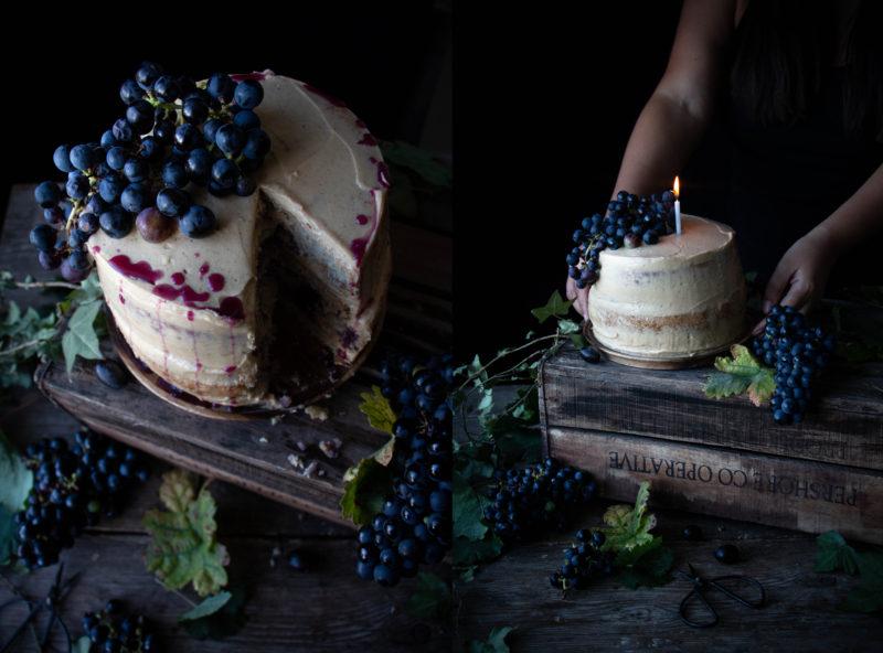 Vegan peanut butter jelly cake and London workshop recap