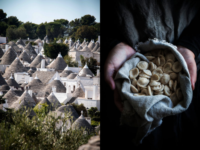 Home made orecchiette and stories from Puglia