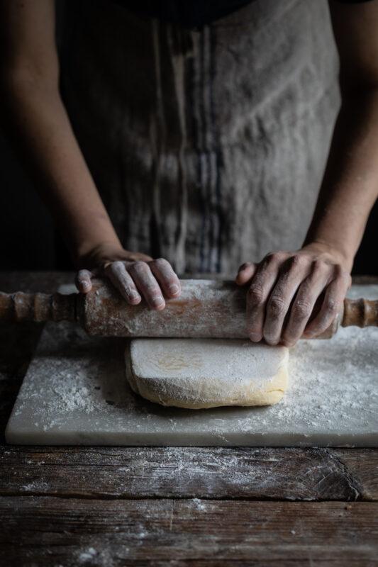 rolling dough photo