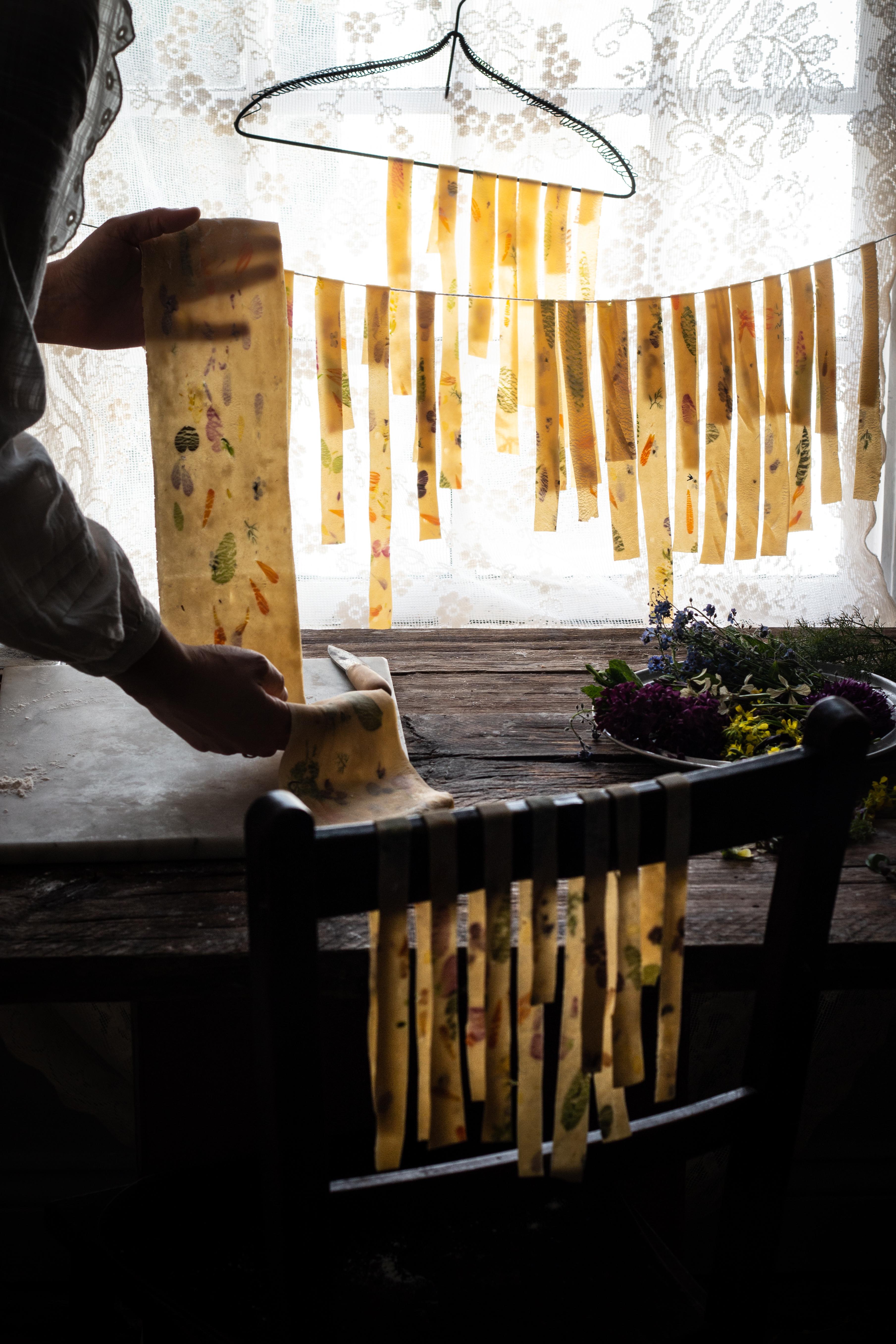 flower pasta