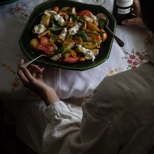 summer panzanella