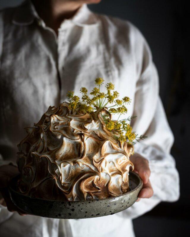 fennel blossom ricotta baked alaska